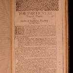 1651 ENGLISH ed Francis Bacon Sylva Sylvarum Atlantis Natural History Philosophy