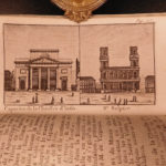 1788 1ed French Almanac Parisien Louis XVI Illustrated Tourist Guide Castles Art
