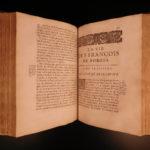 1672 1st ed Life of Jesuit Francois de Borgia Society of Friends Saint Ignatius