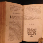 1698 Chiromancy della Rocca Cocles Palmistry Necromancy Prophecy Occult Woodcuts