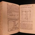 1639 Mathematics & Physics Puzzles FIREWORKS Rockets Ballistics Woodcuts Mydorge