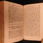 1736 Tully CICERO Greek Philosophy Paradoxa Amicitia Dream of Scipio English ed