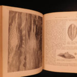1872 World Before the Deluge Figuier Science Geology Illustrated Dinosaurs