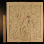 1902 BEAUTIFUL Battlefield of Gettysburg CIVIL WAR NY Illustrated MAPS 3v SET