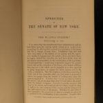 1853 Works of William Seward New York SLAVERY Lincoln Civil War 4v SET