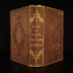 1878 1st ed Life of Confederate General Albert Sidney Johnston Civil War TEXAS