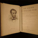 1890 1ed Soldier in Our Civil War Illustrated Military Battles Lincoln HUGE SET
