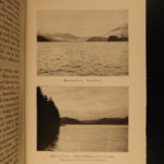 1912 Sheldon Wilderness of North Pacific Canada Bear HUNTING Alaska Illustrated