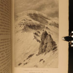 1892 Whymper Travels in the Andes Volcano Matterhorn Alpine Illustrated Voyages