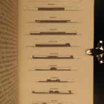 1869 SIGNED Iron Clad Ships British Military Tactics Navy Illustrated Naval