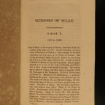 1819 Memoires of Duke of Sully France Henry IV Huguenot Utopian Europe 5v SET