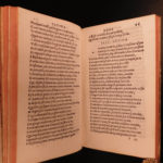 1519 Juvenal & Persius SATIRES Stoic Philosophy ROME Florence Giunta P Incunable