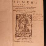 1572 Odyssey of HOMER Greek Mythology Richel Greek & Latin Trojan War Giffen