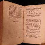 1698 1ed Liquor Alcohol Fermentation Tauvry Medicine Disease Cures WINE Beer