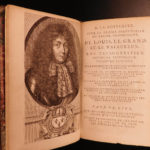 1682 History of France Mezeray Clovis Pharamond Legends Saint Louis IX Portraits