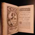 1667 Suetonius Twelve Caesars Julius Caesar Caligula Nero ROME French Portraits