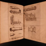 1628 Artillery Diego Ufano GUNS Illustrated War Cannon Tactics French FOLIO