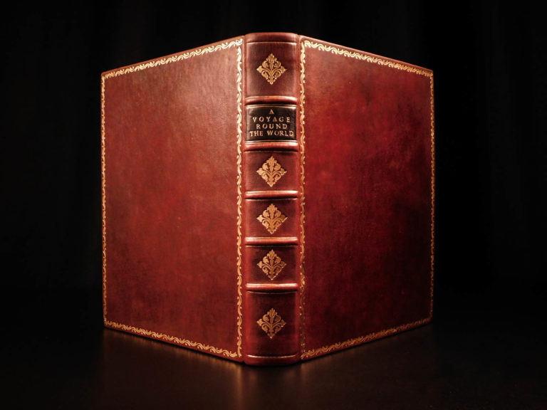Image of 1777 1st ed Captain James Cook Second Voyage Forster Antarctica Arctic Australis