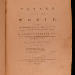1777 1st ed Captain James Cook Second Voyage Forster Antarctica Arctic Australis
