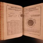 1725 Astronomy Manfredi Ephemerides Motuum Illustrated Comets Eclipses MAPS