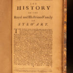 1710 1ed Crawfurd House of Stewart King James II Charles I Stuart England