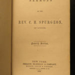 1858 EARLY Sermons of Charles Spurgeon Puritan Devotional Baptist Preaching