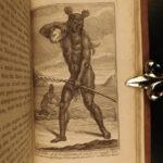 1726 1st ed George Shelvocke Voyage Round the World California PIRATES America