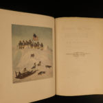 1907 1ed Arctic Voyages Robert Peary Nearest the Pole Illustrated Eskimos MAP