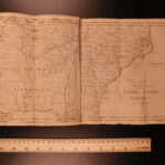 1797 1ed Jedidiah Morse American Gazetteer ATLAS Maps Georgia Native Americans