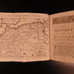 1750 1ed Barbary PIRATES Ottoman Algiers Laugier Tassy Morocco Africa MAP