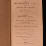 1801 1ed Vancouver Voyage to North Pacific Canada Alaska Illustrated Navigation