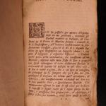 1755 Elements EUCLID Greek Mathematics Logic Geometry Math Naples Italian