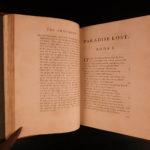 1759 Paradise Lost & Regain'd John Milton English Poetry Garden of Eden Allegory