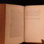 1792 Rousseau Social Contract Political Philosophy Du Contrat Social 2v SET