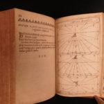 1647 Ingenious Horology Bobynet Gnomonic CLOCKS Sundial Time Watches Illustrated