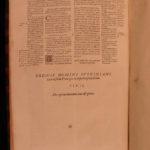 1569 Corpus Juris Civilis Codicis Institutes Justinian LAW Byzantine HUGE FOLIOS
