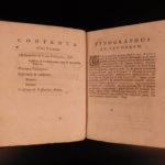 1685 Meditations of Rene Descartes Philosophy Metaphysics Existence of God Latin