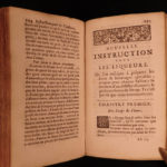 1733 Massialot French Cuisine Cooking Liqueurs WINE Confitures Jams Recipes Cookbook