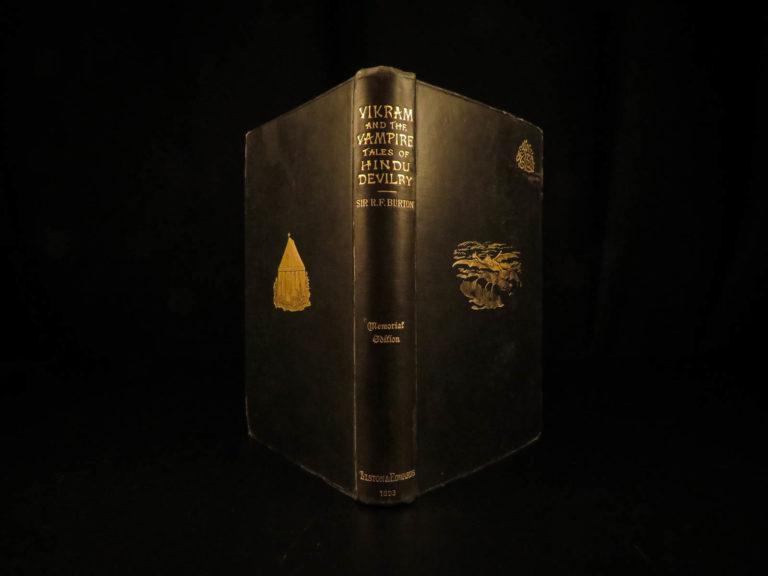 Image of 1893 Vikram & the VAMPIRE Sanskrit Folklore India MAGIC Illustrated Hindu Occult