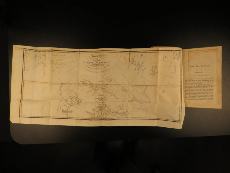 Image of 1825 Arctic Exploration Private Journal of George Lyon Parry Eskimos Illustrated