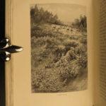 1892 1ed Buxton SIGNED Stalks HUNTING Bears Ibex Reindeer Illustrated Roosevelt