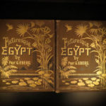 1887 1st English ed EGYPT Illustrated Egyptian Middle East Egyptology 2v Ebers
