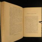 1848 English Medicine of Thomas Sydenham Surgery Cures Smallpox Hysteria 2v SET