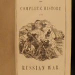 1857 Sebastopol Russian War CRIMEA Color MAP Battle Scene Military Irish Russell
