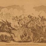 1857 Sebastopol Russian War CRIMEA Color MAP Battle Scene Military Irish Russell