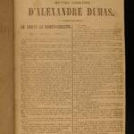 1846 1ed Count of Monte Cristo Alexandre Dumas Illustrated Journal des Debats