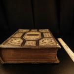 1876 BEAUTIFUL Family Holy BIBLE Illustrated Apocrypha Concordance Psalms