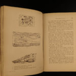 1853 1ed Wallace Travels on Amazon River Natural Evolution Indians Rio Negro