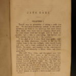 1850 Charlotte Bronte Jane Eyre Gothic Feminism Currer Bell CLASSIC Leipzig Eng