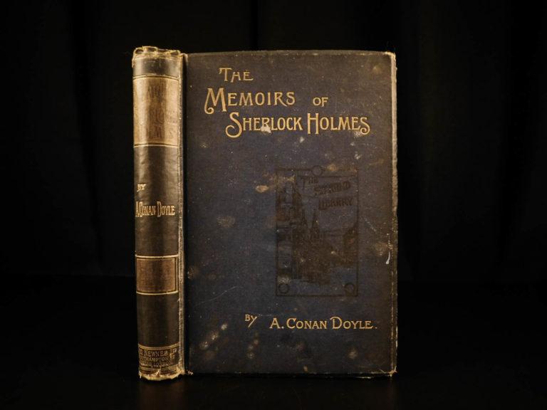 Image of 1894 1st ed Memoirs of Sherlock Holmes Arthur Conan Doyle Illustrated Mystery